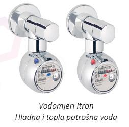 Itron vodomjeri - hladna i topla potrošna voda