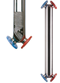 Spiralni izmjenjivaci topline sa cijevnim snopom iz fleksibilnih metalnih cijevi