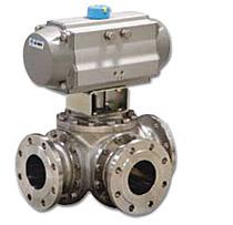 """Troputni i četveroputni kuglasti ventili DIN DN15-DN400 PN16/40 ANSI: ½""""-16"""" 150/300 i 600 lbs"""